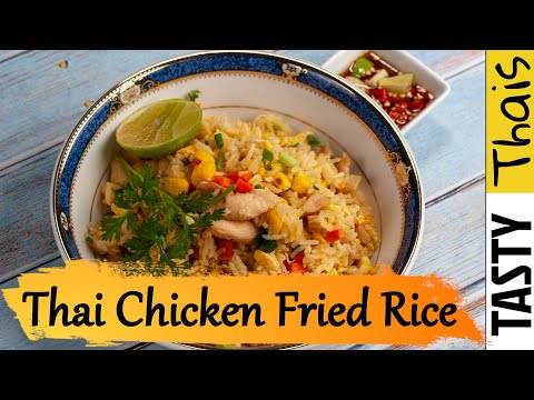 Perfectly Easy Thai Chicken Fried Rice in Under 15 Mins