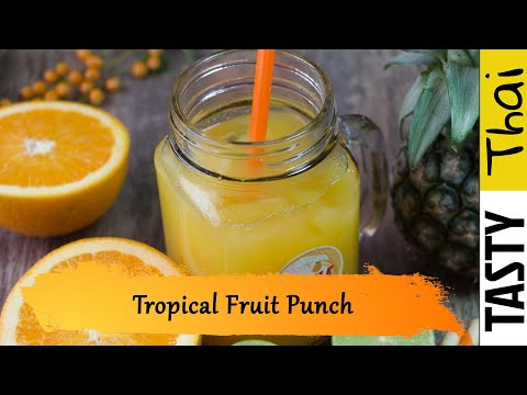 Tropical Fruit Punch for Juicer - Easy Fresh Fruit Tropical Punch that's Not Just for Summer!