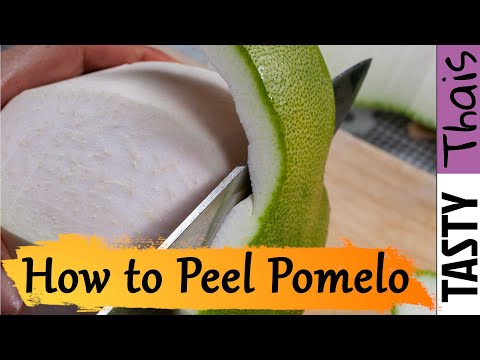 How to Peel a Pomelo - 3 Methods Explored plus Decorative Carving