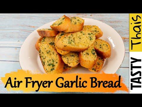 Air Fryer Garlic Bread Recipe - Quick Easy & Delicious