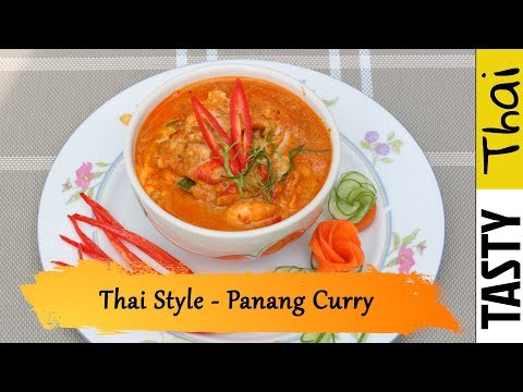 Thai Panang Chicken Curry - Super Easy & Quick Delicious Thai Curry