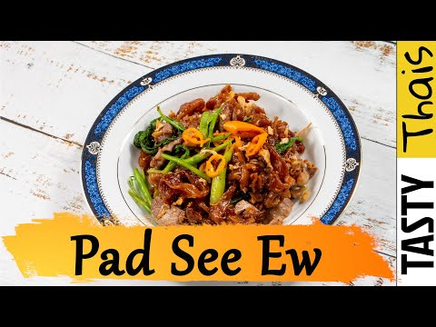 Authentic Pad Sea Ew Recipe - Best Thai Streetfood Noodles to Cook at Home