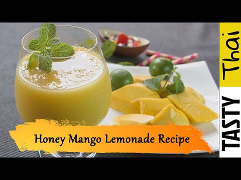 Honey Mango Lemonade (Cool & Refreshingly Tasty)