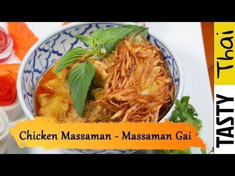 Quick & Easy Authentic Thai Chicken Massaman Curry Recipe - Massaman Gai