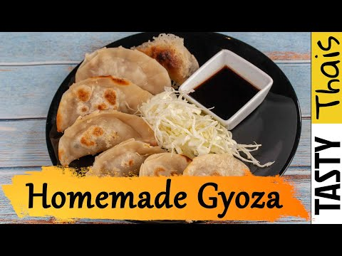 How To Make Gyoza Wrappers, Dumpling Fillings and Gyoza Dipping Sauce
