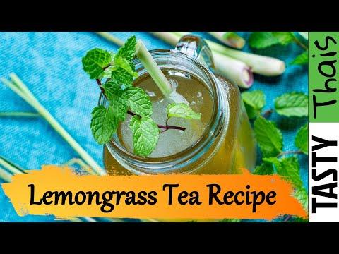 How to Make Lemongrass Tea with Ginger - Thai Style Recipe