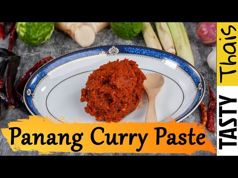Homemade Panang Curry Paste - Awesome & Quick