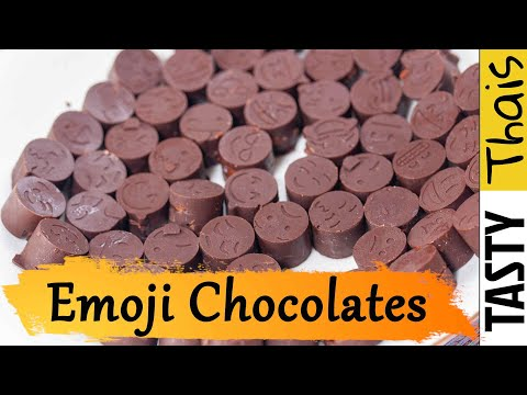 Delicious Chocolate Fun for Kids & Adults - Homemade Emoji Chocolate Truffles