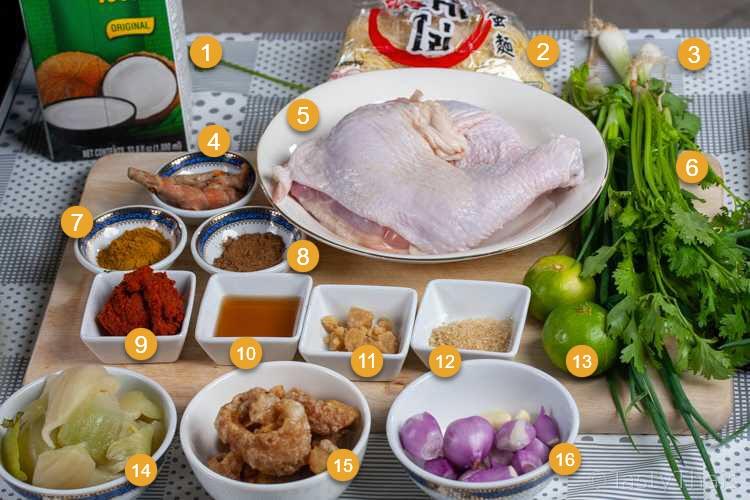 Khao Soi Ingredients You Need