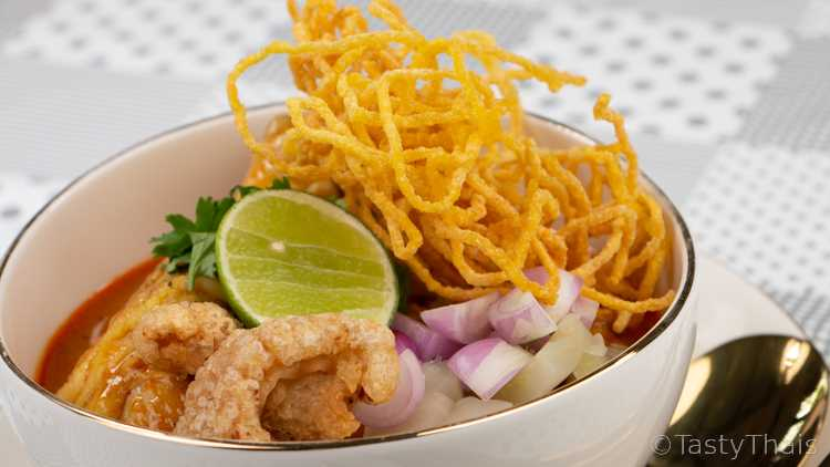 Chicken Khao Soi recipe a Thai Noodle Curry