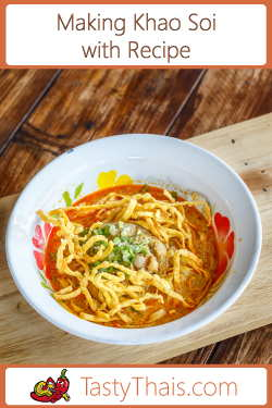 Recipe for Khao Soi