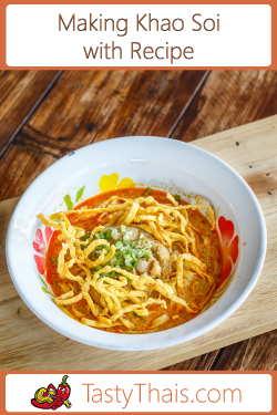 Recipe for Khao Soi