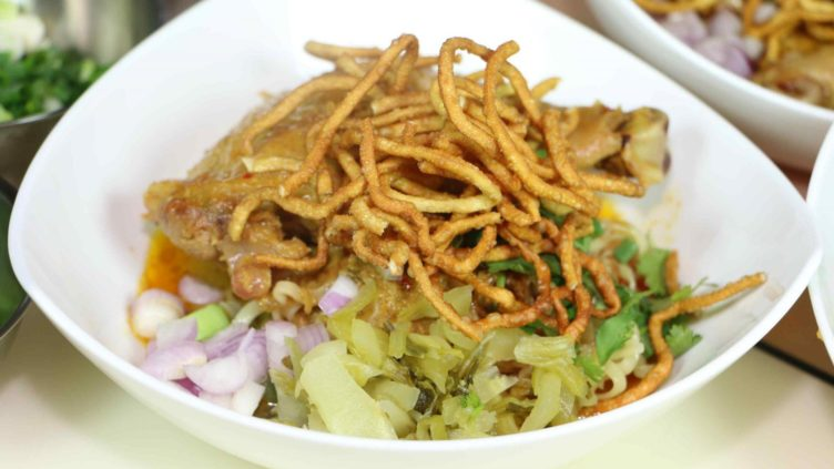 Khao Soi Finished Dish