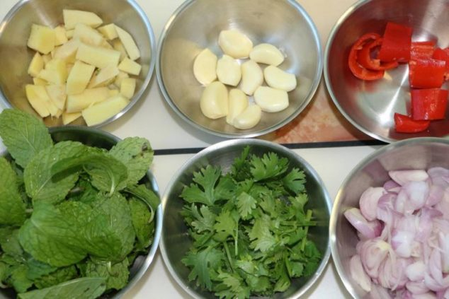 Image of Ingredients for Khao Mok Gai