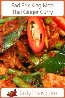 Red Curry with Pork & Ginger Recipe Image