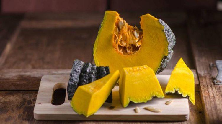Image of suitable pumpkin for Coconut dessert recipe