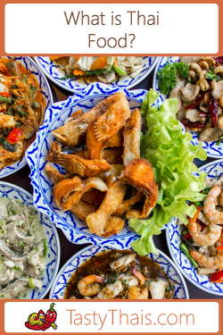 Image of various regional thai food dishes