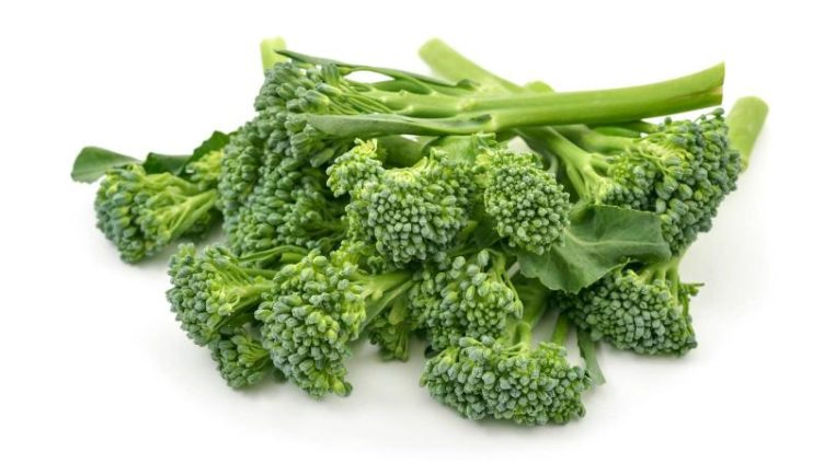 Photo of raw broccolini