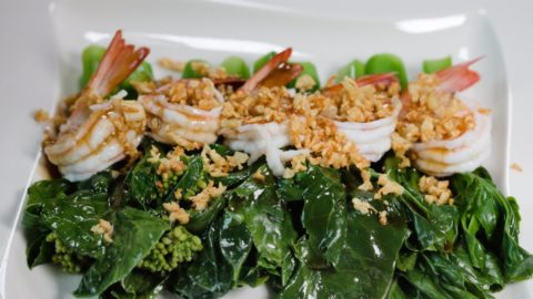 Photo of Chinese Kale with Shimp in Oyster Sauce