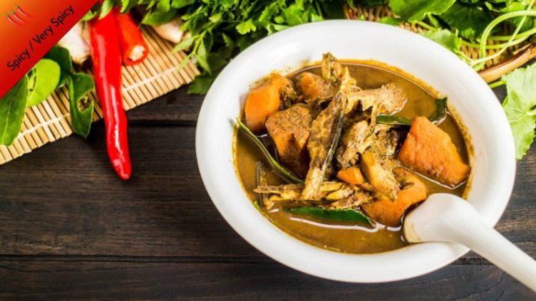 Photo of Fish Kdney Super Spicy Thai Curry