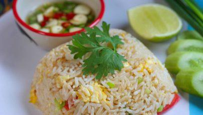 Photo of egg fried rice
