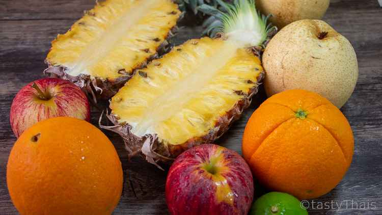 Fruit Punch recipe Ingredients needed
