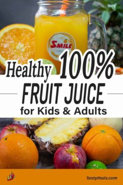 Fruit punch recipe for juicers