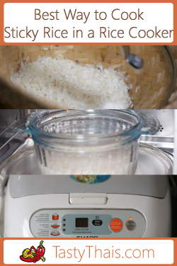 Photo indicating Several of the top methods to cook sticky rice compared and the best ones highlighted
