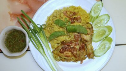 Photo of Khao Mok Gai - Thai version of Chicken Biriyani