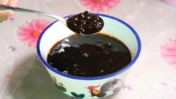 photo of brown sugar boba ready to be used