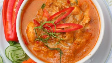 Photo of Panang Chicken Curry Ready to Serve