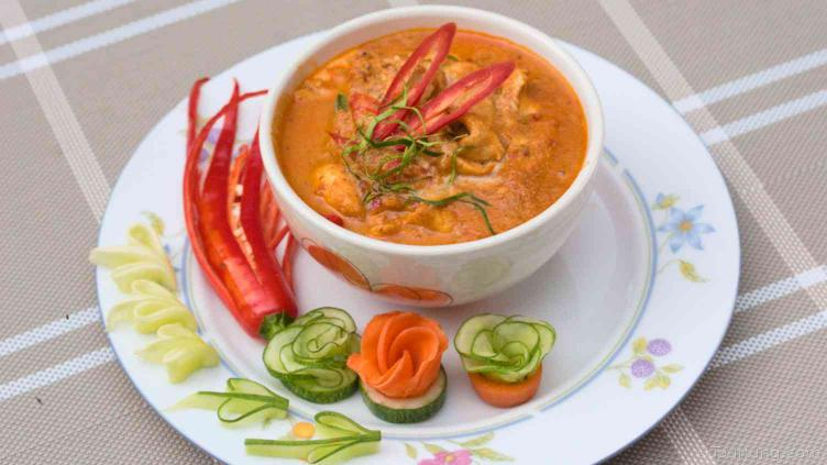 photo of Thai CHicken Panang Curry