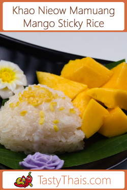 picture of mango sticky rice