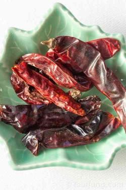 photo of Thai dried chilies