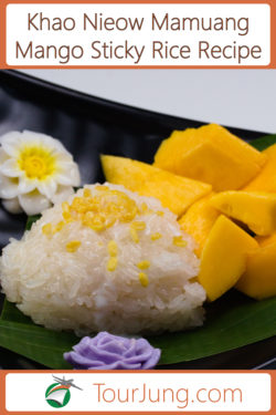 Easy Mango Sticky Rice Recipe - Authentic Mango with Sticky Rice & Coconut Milk