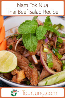 Photo of Warm Thai Beef Salad Recipe cooked.