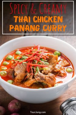 Best Thai Chicken Panang Curry Recipe - Panang Gai