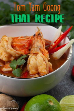 Photo for pin of Tom Yum Goong Soup