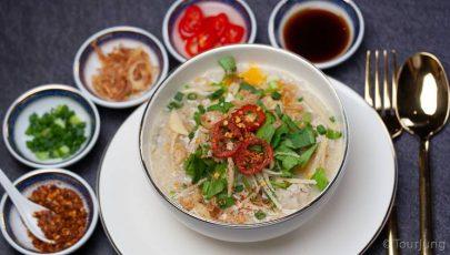 photo od Khao Tom ready to eat