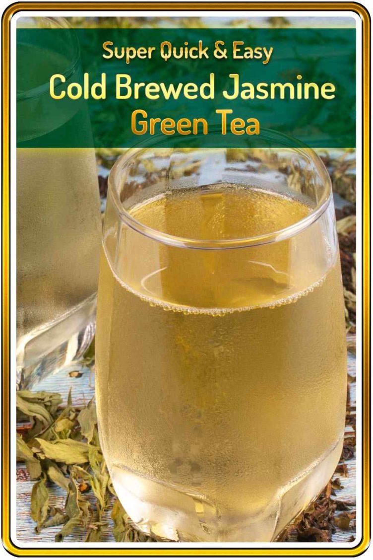 Thai Jasmine Green Tea Cold brewed