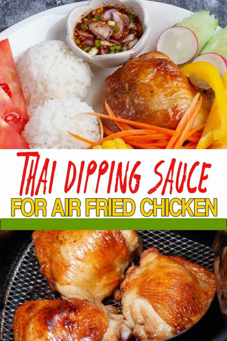 photo of Chicken Thighs with Thai Dipping Sauce