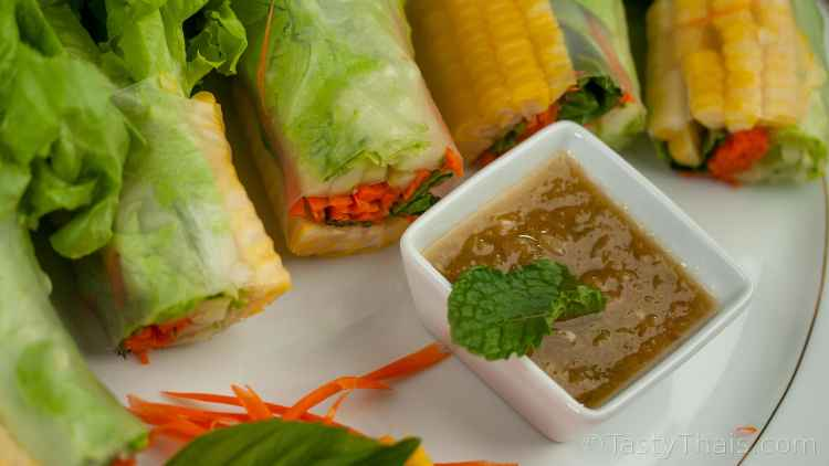 photo mainly of Thai dipping sauce