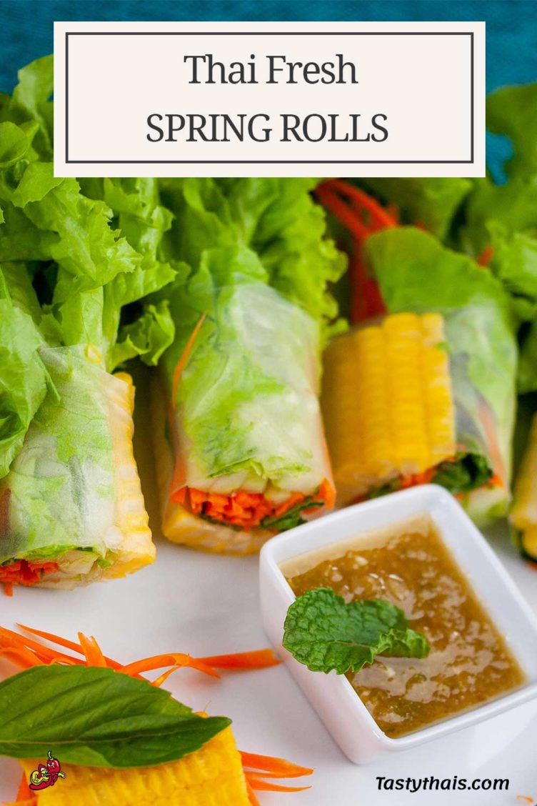 The perfect spring rolls with dipping sauce to pair with vegetable only fresh salad rolls suitable for vegetarians, vegans and the rest of the world.