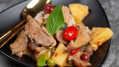 photo of Thai Red Curry with Roasted Duck
