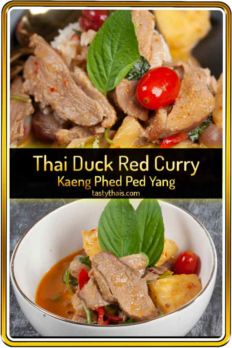pin photo of Thai Red Duck Curry