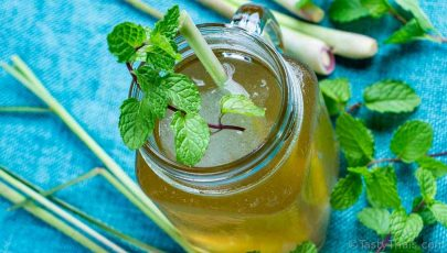 photo of thai lemongrass tea recipe made