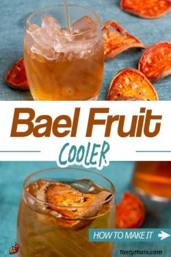 How to Make Dried Bael Fruit Tea from Thailand