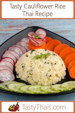 cheesy stir fried cauliflower rice navigation image