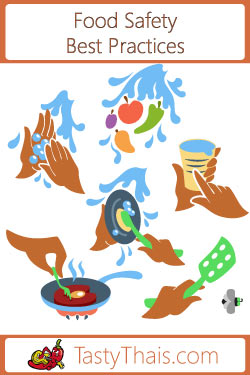 navigation image for best practices for food handling during virus outbreak