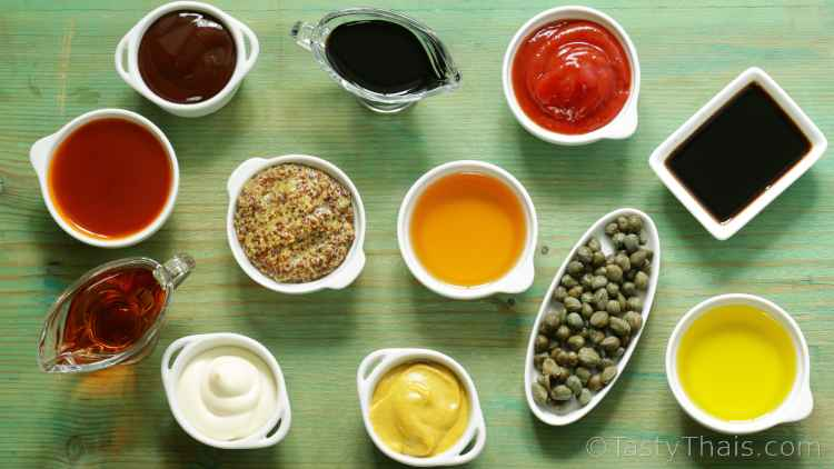 photo of various sauces and condiments for stocking up during the pandemic outbreak